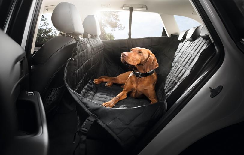 2018 Audi Q7 Protective Rear Seat Pet Cover Side Doors